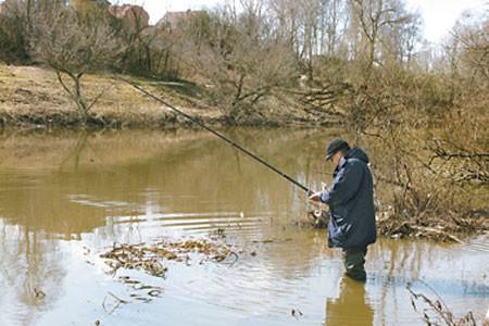 рыбалка на москва реке в районе тучково