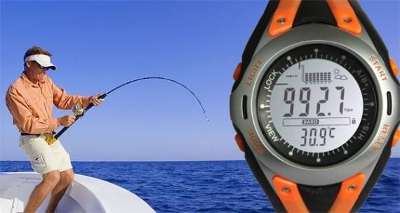 какое давление должно для рыбалки